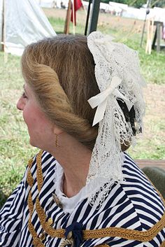 Southron Creations: Snoods or Nets? (historically accurate hair for Civil War reenacting)