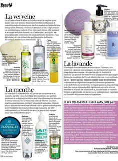 CIE LUXE Feature: version femina Magazine version femina Magazine recommended Compagnie de Provence's Mint Tea Body Milk. Shop it: www.CompagniedeProvence-USA.com #mint #minttea #CieLuxe #CieLuxeBrands #CDP #CompagniedeProvence #bodylotion #bodymilk #versionfemina #versionfeminamagazine