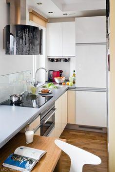 Salon i aneks kuchenny. Jak urządzić MAŁE MIESZKANIE