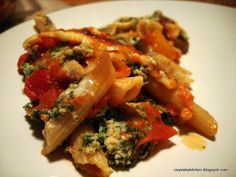 Three Cheese Ziti with Spinach | finding joy in my kitchen