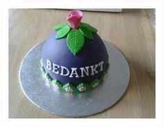 bedankt taartje