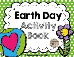 This cute little Earth Day Activity Book is perfect for fast finisher work or for a fast printable for Earth Day! Teaching Themes, Teaching Science, Learning Resources, Earth Day Activities, Holiday Activities, Book Activities, Recycling Activities For Kids, Preschool Ideas, Environmental Education