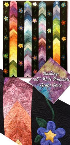 Rose Window Batik Quilt Pattern by KoolKat Quilting at Creative ... : online quilt designer - Adamdwight.com