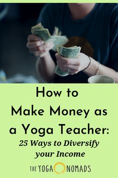 How to Make Money as a Yoga Teacher: 25 Ways to Diversify your Income! We share beginner and advanced strategies to increase your income as a yoga teacher. Yoga Moves, Yoga Exercises, Stretches, Yoga Poses For Digestion, Hard Yoga, Different Types Of Yoga, Yoga Positions, Yoga Teacher Training, Ashtanga Yoga