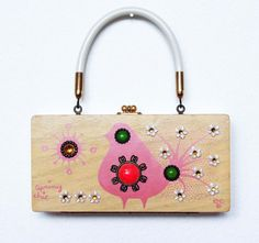 Enid Collins Spring Chic Box Bag by niwotARTgallery on Etsy, SOLD