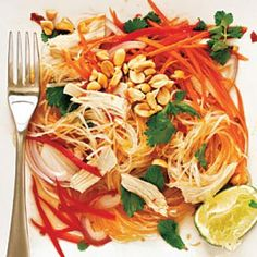 Healthy Chicken and Glass Noodle Salad Recipes | CookingLight.com