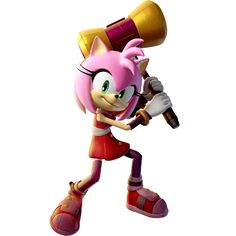Sonic Boom: Fire and Ice (Nintendo Official Artwork Sonic Boom Amy, Sonic 3, Amy Rose, Amelia Rose, Cry Anime, Anime Art, Sonic & Knuckles, Cloverfield 2, Classic Sonic