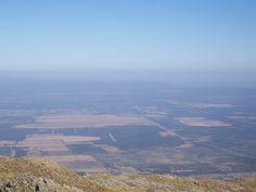 Sierra de los Comechingones. Mirando hacia Merlo San Luis. Argentina Merlo San Luis, Sierra, Airplane View, Grand Canyon, Nature, Travel, Beautiful Places, Argentina, Viajes