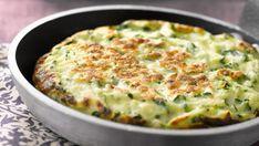 Crêpes de courgettes soufflées - Recettes : recette sur Cuisine Actuelle
