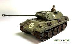 Sd.Kfz. 171 Panzerkampfwagen V Panther Ausf. D Ersatz M10, 150. SS-Panzer-Brigade, Ardennes 1944. War Thunder, Military Diorama, Panthers, Military Vehicles, Battle, Coding, Illustrations, Models, Germany