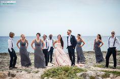 Nice Wedding Party at Hard Rock Hotel in the Riviera Maya by Diego Muñoz Photographer #weddingphotographer