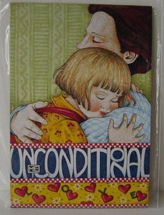Mary Engelbreit | Mary Engelbreit Magnet UNCONDITIONAL mother by countryroadgifts