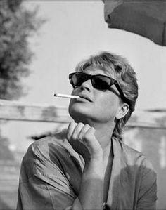 Simone Signoret (1921-1985).