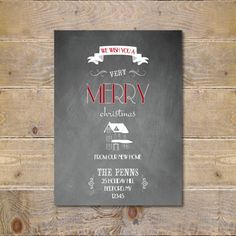 Moving Announcement / Change of Address Card by SweetCricketDesign ...