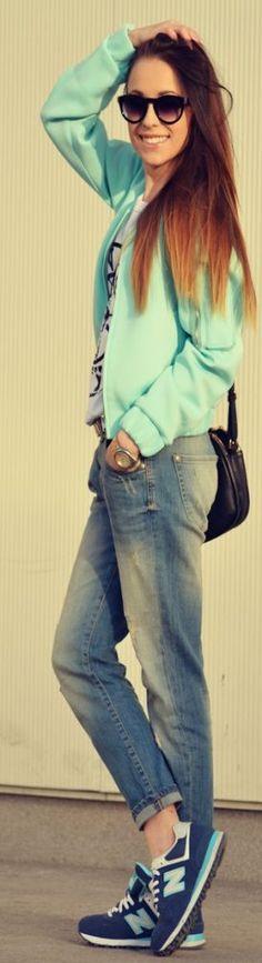 58e97b239e 39+ Ideas Sport Style Chic Bomber Jackets #sport #style Zara Jeans, Cute