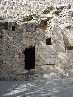 Possible Site of Jesus Tomb, East Jerusalem, believed to be where Joseph of Aramethea's Garden was located.