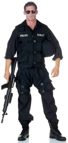 adult male swat costume bing images - Swat Costumes For Halloween