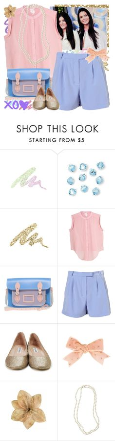"""I Can Tell Just What You Want, You Don't Want To Be Alone"" by elaine-elizabethxo ❤ liked on Polyvore featuring Urban Decay, Monki, Zatchels, Topshop, Steve Madden, Tarina Tarantino, Clips, Nordstrom, pleated shorts and pearl necklaces"