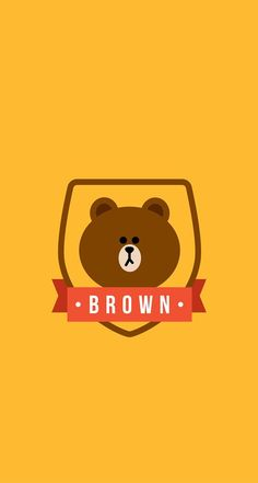 BROWN PIC | GIFs, pics and wallpapers by LINE friends INDEX VM