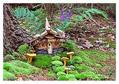 Greenspirit Arts Cards - Faerie Houses Collections