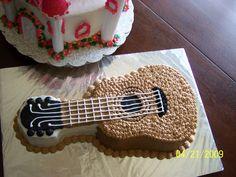 Guitar Cake By Tabitha Rodriguez @ Tabi's Custom Creations