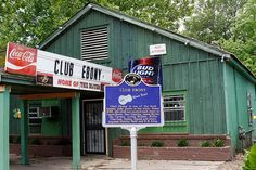 Club Ebony, Home of the Blues, Indianola MS by Ma' and Pa'