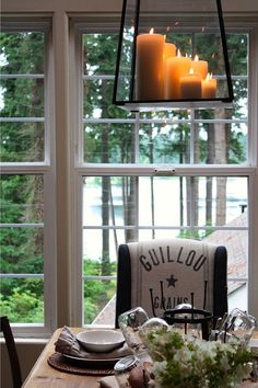 tj max...world market .. target My Sweet Savannah: ~a rustic table & a new lantern~