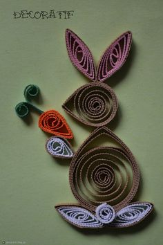 quilling wielkanoc - Google Search