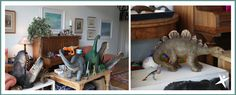 Dinosaurs in the garden room https://thelittleexplorersactivityclub.wordpress.com/