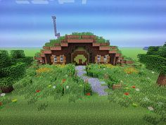 Made by Anna Rumary Made by Anna Rumary People enjoy Minecraft as Art Minecraft, Minecraft Structures, Cute Minecraft Houses, Minecraft Houses Blueprints, Minecraft Plans, Minecraft House Designs, Minecraft Survival, Amazing Minecraft, Minecraft Tutorial