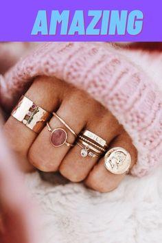 Cute Jewelry, Jewelry Accessories, Jewelry Rings, Jewelry Ideas, Summer Accessories, Gold Jewelry, Jewelry Box, Jewelry Supplies, Diy Jewelry
