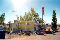 Rachel, Nevada.  A place to go when you want to get away from it all.  And watch for spaceships.