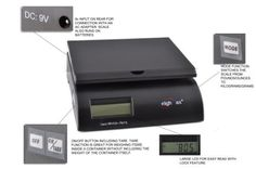50lb Digital Postal / Postage Shipping Scale Black- AC adapter and Battery Included by Weighmax. $18.50. WeighMax postal scales were designed for weighing both letters and packages. With an accuracy of 0.2 ounces, it is fully capable of weighing first class letters for the post office. These digital postage scales feature mode switching, tare and hold buttons for your convenience. It also auto-hold the weight after a package has been placed on it, so you never...