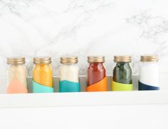 20 DIYs to Freshen Up Your Kitchen Decor for the Holidays via Brit + Co