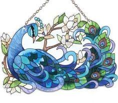 Peacock Suncatcher