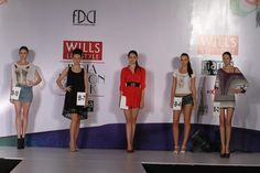 Here's a glimpse of the model hunt for the Wills Lifestyle India Fashion Week SS13. #WIFWSS13