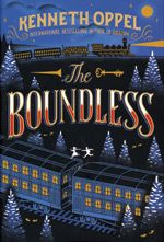 The Boundless by Kenneth Oppel. Riding across Canada on The Boundless, a train carrying a mysterious and priceless treasure, Will Everett engages the help of a traveling circus as he is pursued by thieves and murderers. New Books, Good Books, Books To Read, Ex Libris, Nail Biting, Design Poster, Graphic Design, Branding, Chapter Books