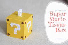{DIY-Freutag} Super Mario Tissue Box - siebenkilopaket