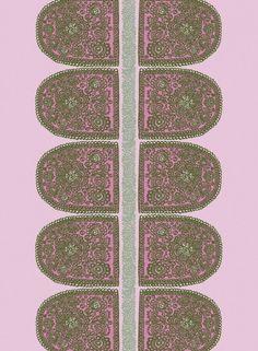 Marimekko Satula cotton fabric by Maija Isola