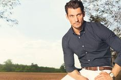 David Gandy Strikes a Pose for Massimo Duttis February 2013 Lookbook thefashionisto.com