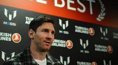 Messi trabaja para jugar el domingo