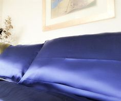 Asthma Symptoms, Natural Protein, Mulberry Silk, Royal Blue, Your Hair, Bed Pillows, Collection, Symptoms Of Asthma, Pillows
