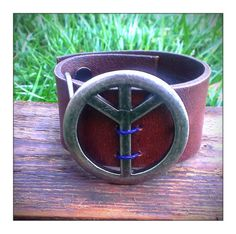 Mens Leather Cuff Womens Leather Cuff Unique Handmade by LiVnSoL  $35
