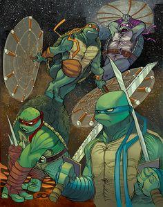 Teenage Mutant Ninja Turtles by JeremyTreece.deviantart.com on @DeviantArt