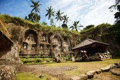Beautiful Gunung Kawi Tempel in Zentral-Bali
