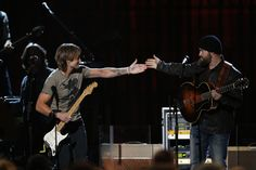 Keith Urban and Zac Brown Band at the 2012 CMA Awards!