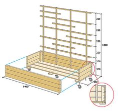 Build flower box with trellis - Modern Diy Pallet Projects, Outdoor Projects, Garden Projects, Indoor Planters, Diy Planters, Privacy Planter, Espalier, Privacy Panels, Indoor Flowers