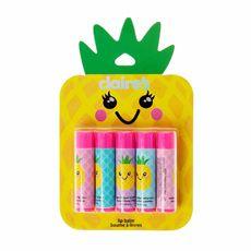 Pineapple 5 Pack Fun Lipbalms