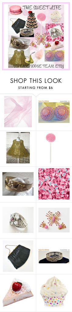 """""""THE SWEET LIFE"""" by lunasvintagedesigns ❤ liked on Polyvore featuring Hershey's and vintage"""