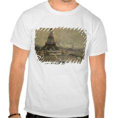The Construction of the Eiffel Tower Tee T Shirt, Hoodie Sweatshirt